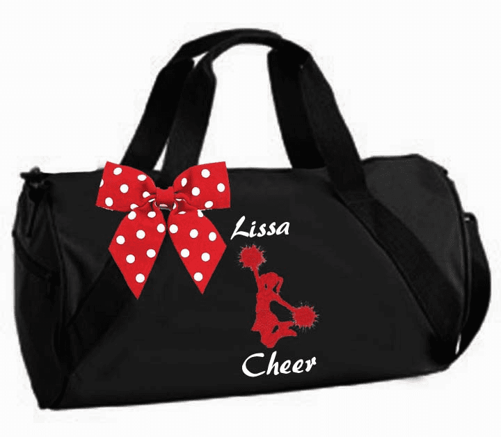 Personalized Embroidered Cheer Bags, Totes, Duffels, Backpacks
