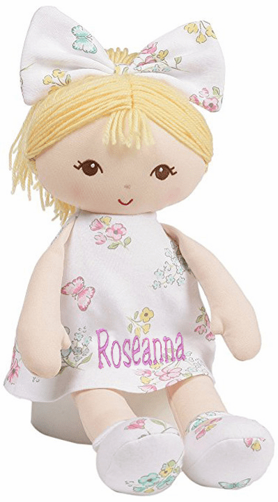 Personalized Embroidered Dolls