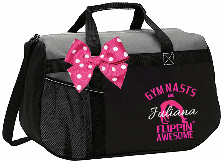Personalized Embroidered Gymnastics Bags, Totes, Duffels, Backpacks