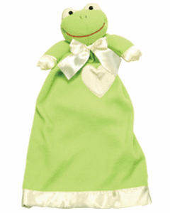 Personalized Frankie Frog Lovie 43051 PERSONALIZE ME!