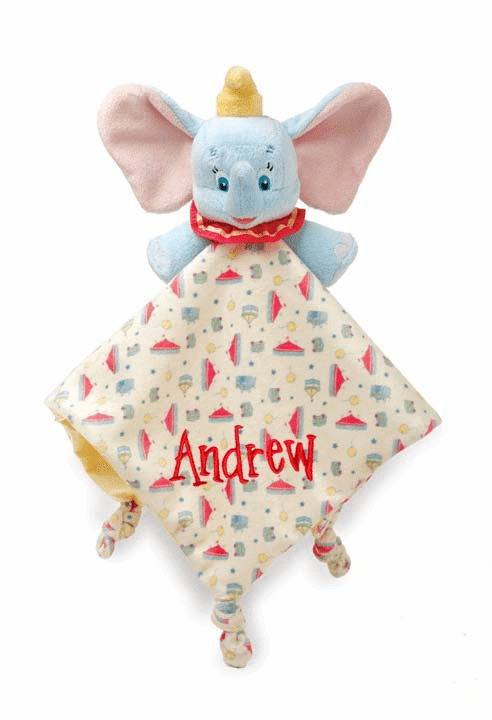 PERSONALIZED Infant Baby Security Snuggly Blankie Disney Dumbo