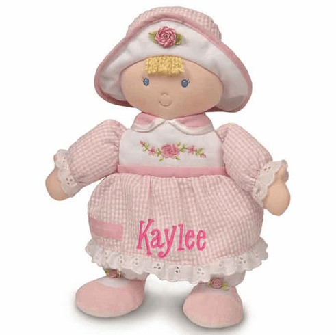 PERSONALIZED Kids Preferred Sophia Soft Pink Baby Doll 90356KP
