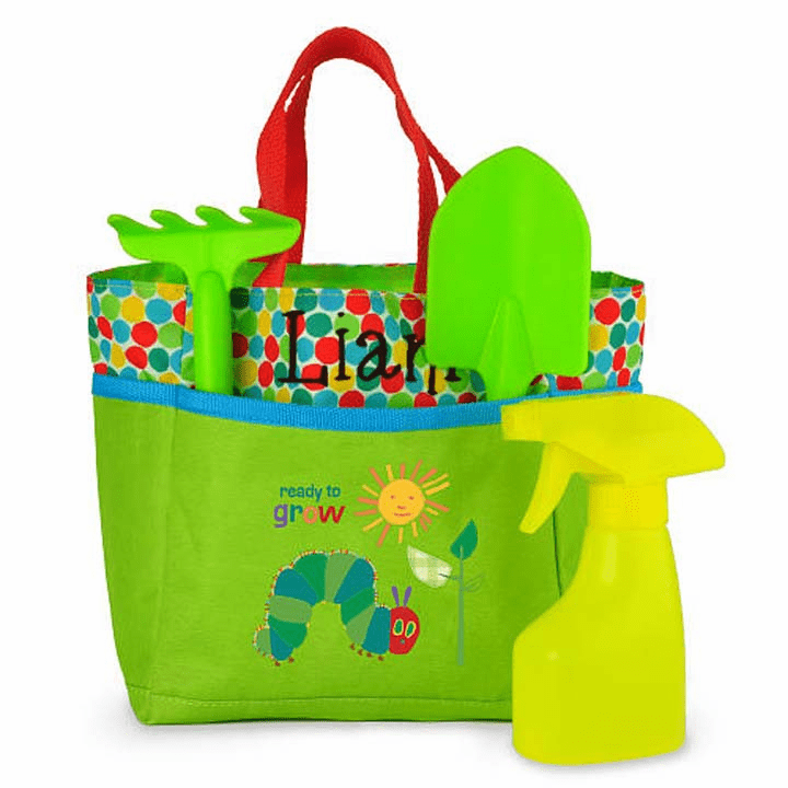 Personalized Kids Size Gardening Bag Set Eric Carle's 96502