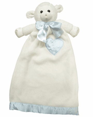 Personalized Komet Creations Lenny Lamb Babies Lovie 93350 Security Blanket PERSONALIZE ME!