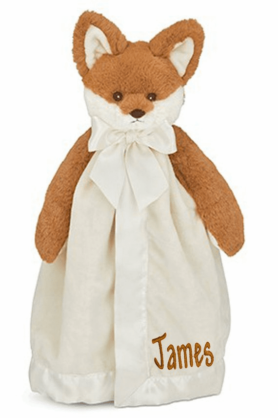 PERSONALIZED Lil' Foxy Fritz Snuggler Security Snuggle Blanket