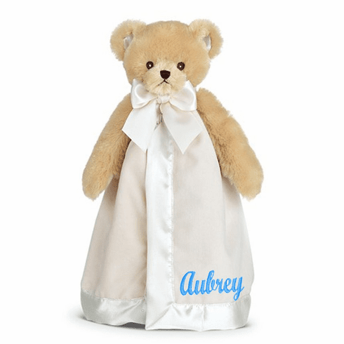 PERSONALIZED Lil' Teddy Snuggler Security Snuggle Blanket