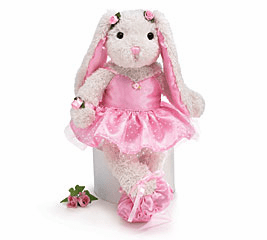 Personalized Plush Bunnies Great for Easter