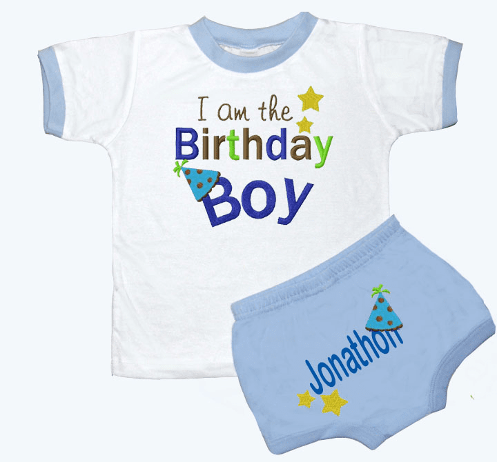 Personalized Royal Boy's 1st Birthday Outfit Birthday Boy Design
