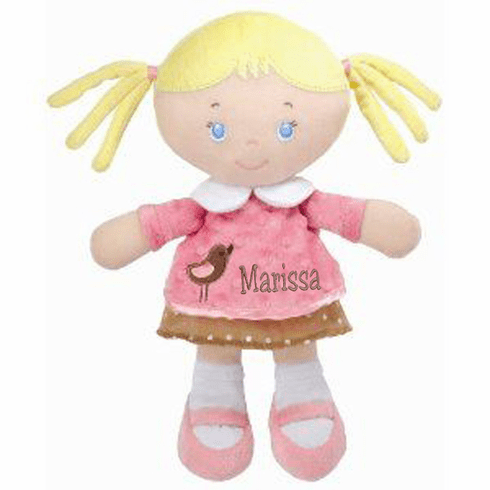 "Personalized Samantha Blonde Doll by Kids Preferred 11"" 90392"