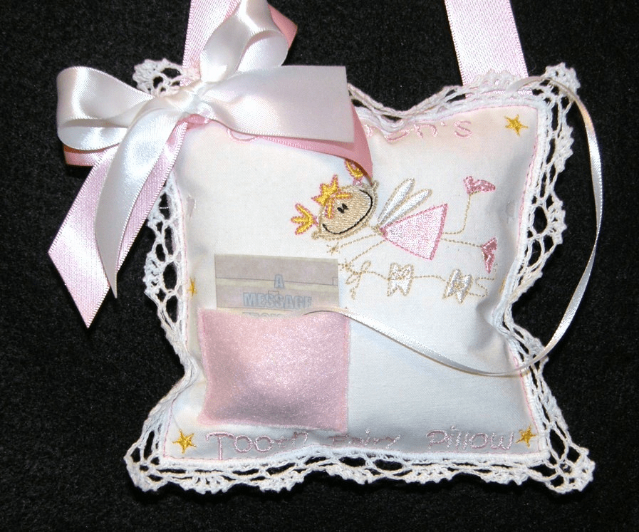 Personalized Tooth Fairy Pillows
