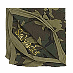 Personalized Wee Wears Green Camo Receiving Blanket Personalize Me