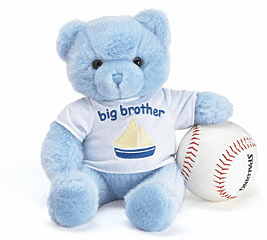 Plush Big Brother Bear