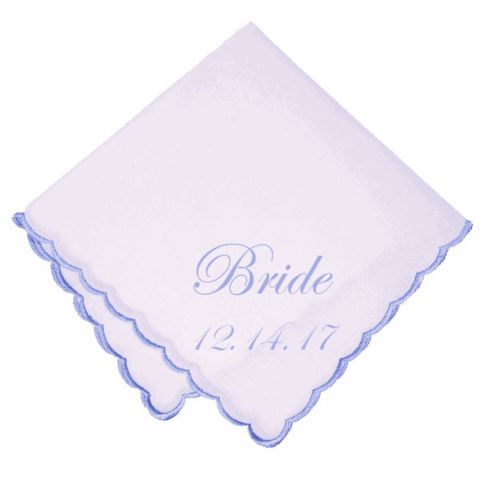 White 100% Cotton Ladies Handkerchief