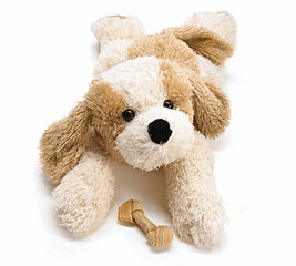 "Woofie Plush Puppy Lying Down 19"" PERSONALIZE ME"