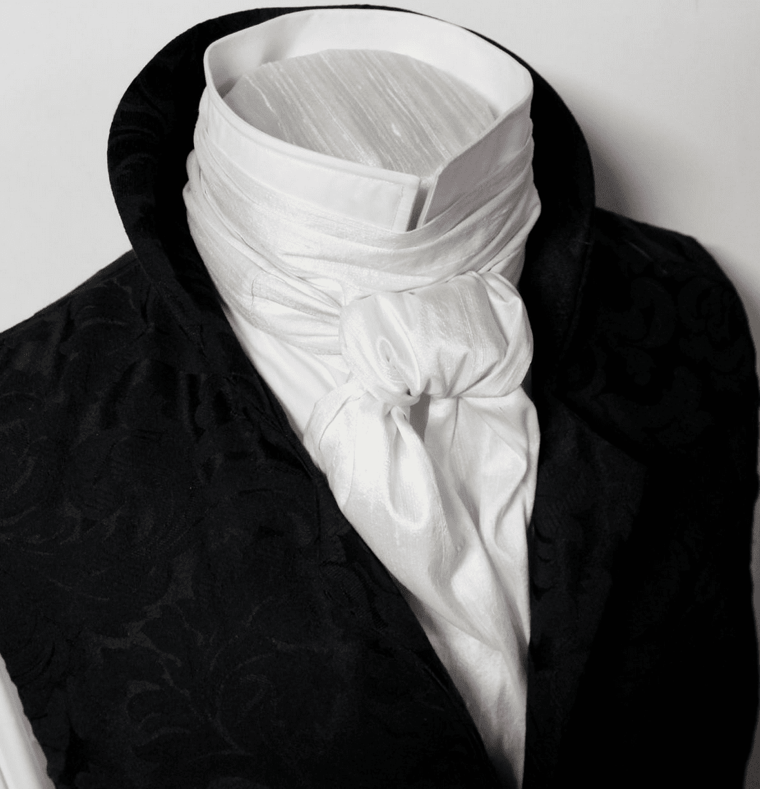Click for Selection ---> EXTRA LONG Regency Cravats - all widths