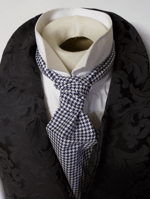 Day Cravat Tied as Ruche or Scrunchie