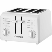 Cuisinart CPT142 Electric White 4 Slice 9 Setting Toaster