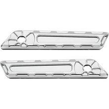 CHROME FUSION SADDLEBAG HINGE COVER