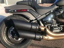 18-Up Fat Bob Exhaust Pipe