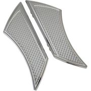 Stealth Driver Floorboards-Diamond-Chrome