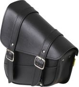 WILLIE & MAX BLACK SYN LEATHER SWINGARM BAG