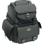 COMBINATION BACKREST, SEAT AND SISSY BAR BAG