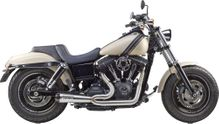 TBR COMP S 2IN1 EXHAUST DYNA BRUSHED