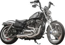 TBR COMP S 2IN1 EXHAUST SPORTSTER BRUSHED