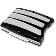 Performance Machine Scalloped Contrast Cut Rocker Box Cover- Twin Cam