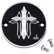 Carl Brouhard Designs Cross Points Cover-Black-M8