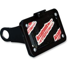 Accutronix Side Mount License Plate w/ LED Tag Light