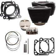 """S&S Cycles 124"""" Big Bore Cylinder Kit-M8 107"""" Engines"""