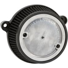 Arlen Ness Big Sucker Stage 1 Air Cleaner w/ Black Back Plate- M8