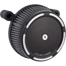 Arlen Ness Big Sucker Stage 1 Synthetic Air Filter- Slot Track-Black Twin Cam & XL
