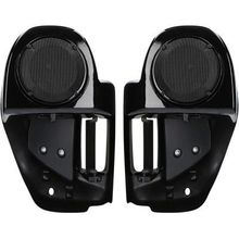 Saddle Tramp Lower Fairing Speaker Assembly- Vivid Black