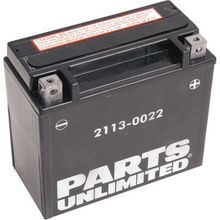 Parts Unlimited AGM Maintenance-Free Battery