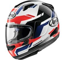 Arai Quantum-X Cliff Helmet- Red/White
