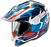 Arai XD4 Africa Twin- White/Blue