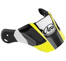 Arai XD4 Replacement Visors-Catch Yellow