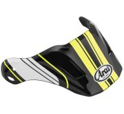 Arai XD4 Replacement Visors-Distance Yellow