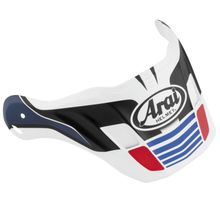 Arai XD4 Replacement Visors- Vision Red Frost