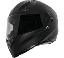 Speed and Strength SS2100 Solid Speed Helmet- Satin Black