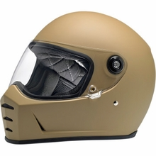 Biltwell - Lane Splitter Helmet - Flat Coyote Tan