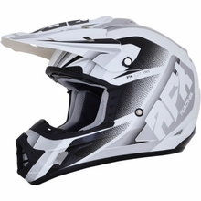 AFX - FX-17 Helmet - Force - Pearl White/Silver
