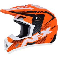 AFX - FX-17Y Helmet - Holeshot - Matte Neon Orange/Black/White