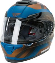 FLY RACING - SENTINEL MESH HELMET TEAL/COPPER