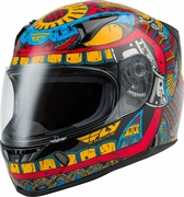 FLY RACING - REVOLT CODEX HELMET RED/BLUE/YELLOW