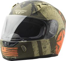 FLY RACING - REVOLT LIBERATOR HELMET MATTE BROWN/ORANGE