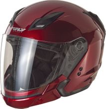 FLY RACING - TOURIST SOLID HELMET CANDY RED