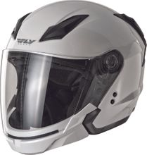 FLY RACING - TOURIST SOLID HELMET PEARL WHITE